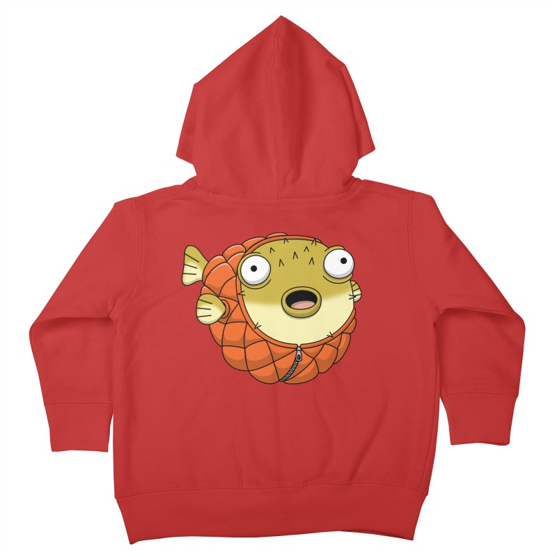 Puffer Fish Kids Toddler Zip-Up Hoody by Pig's Ear Gear on Threadless