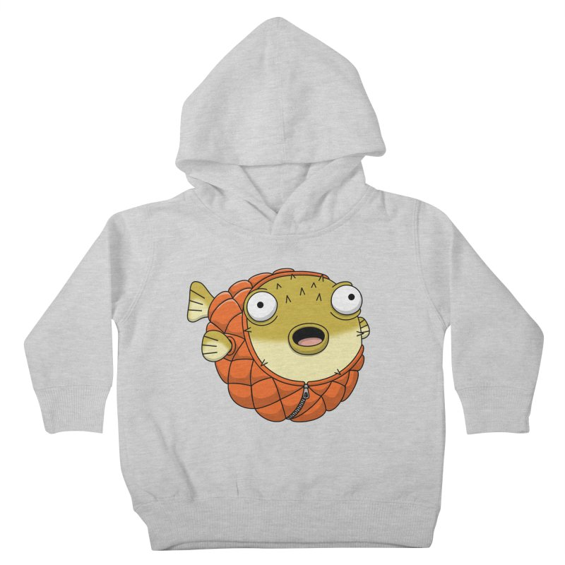 Puffer Fish Kids Toddler Pullover Hoody by Pig's Ear Gear on Threadless