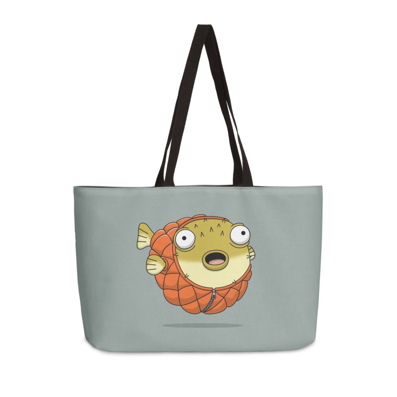 Puffer Fish Accessories Bag by Pig's Ear Gear on Threadless