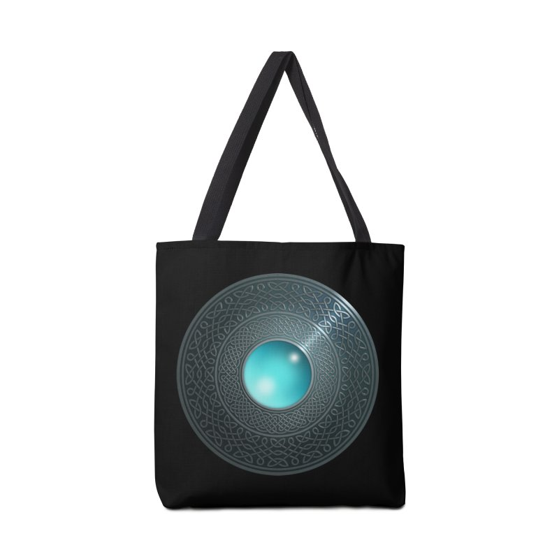 Shield Accessories Tote Bag Bag by Pig's Ear Gear on Threadless