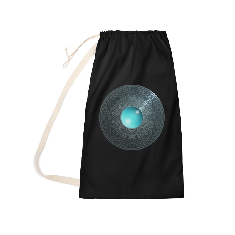 Shield Accessories Laundry Bag Bag by Pig's Ear Gear on Threadless