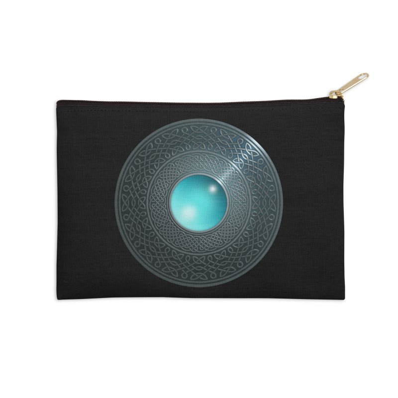 Shield Accessories Zip Pouch by Pig's Ear Gear on Threadless
