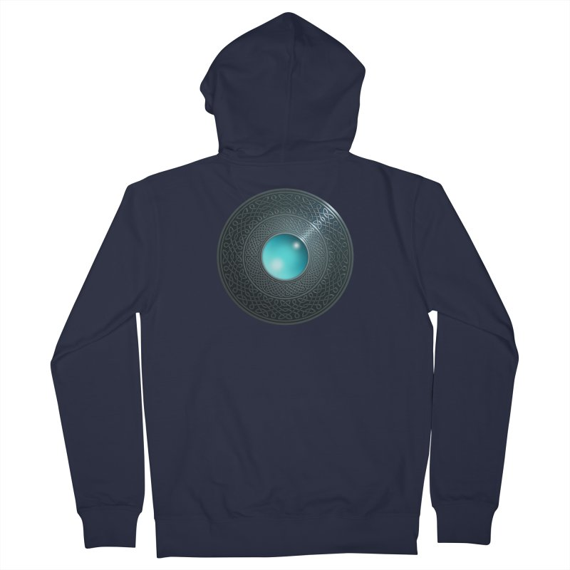 Shield Men's French Terry Zip-Up Hoody by Pig's Ear Gear on Threadless