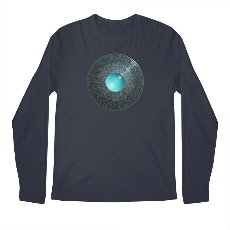 Shield Men's Regular Longsleeve T-Shirt by Pig's Ear Gear on Threadless