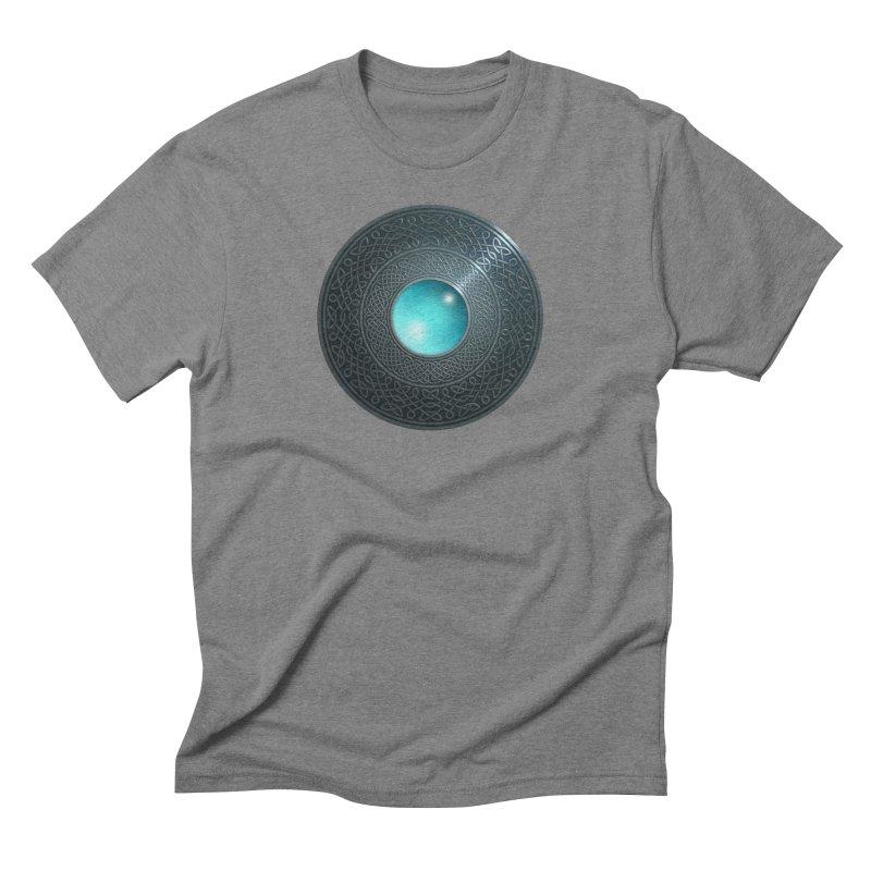 Shield Men's Triblend T-Shirt by Pig's Ear Gear on Threadless