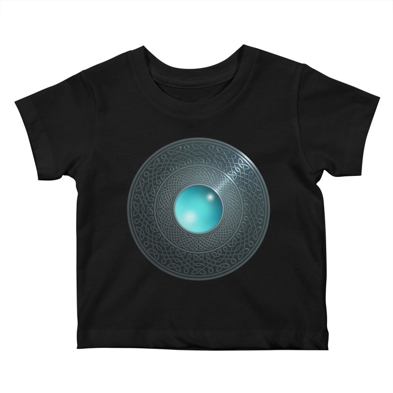 Shield Kids Baby T-Shirt by Pig's Ear Gear on Threadless