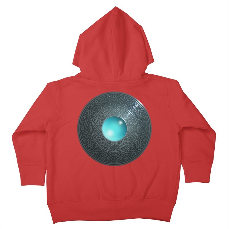 Shield Kids Toddler Zip-Up Hoody by Pig's Ear Gear on Threadless
