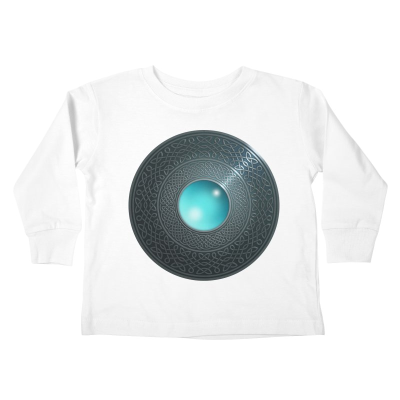 Shield Kids Toddler Longsleeve T-Shirt by Pig's Ear Gear on Threadless