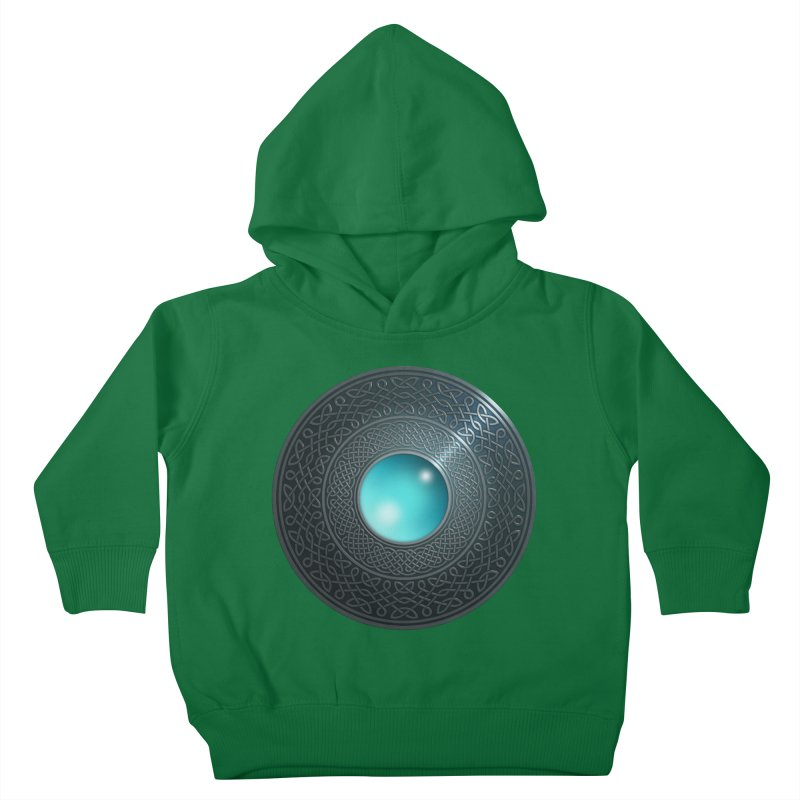 Shield Kids Toddler Pullover Hoody by Pig's Ear Gear on Threadless