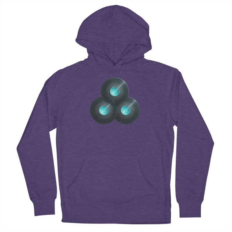 Triple Celt Men's French Terry Pullover Hoody by Pig's Ear Gear on Threadless