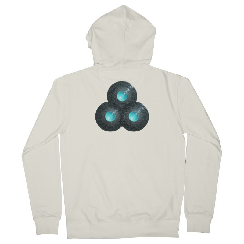 Triple Celt Women's French Terry Zip-Up Hoody by Pig's Ear Gear on Threadless