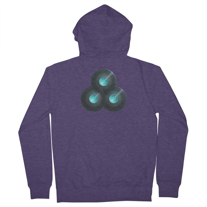 Triple Celt Men's French Terry Zip-Up Hoody by Pig's Ear Gear on Threadless