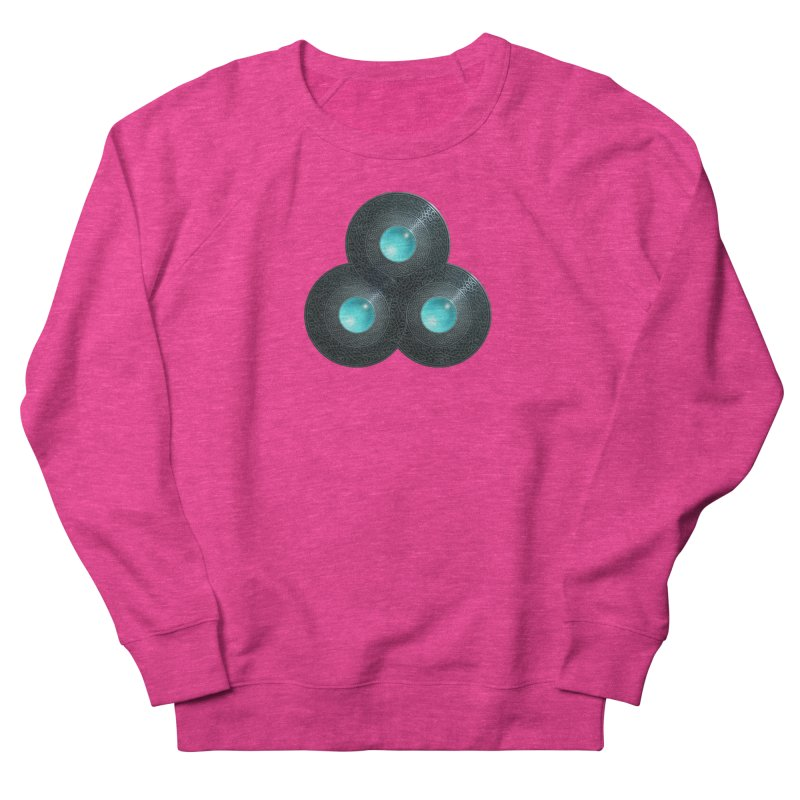 Triple Celt Women's French Terry Sweatshirt by Pig's Ear Gear on Threadless