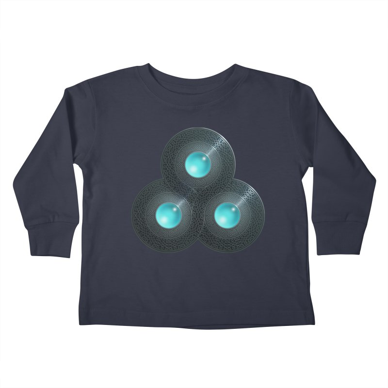Triple Celt Kids Toddler Longsleeve T-Shirt by Pig's Ear Gear on Threadless
