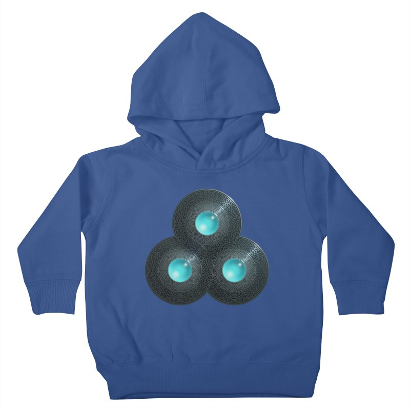 Triple Celt Kids Toddler Pullover Hoody by Pig's Ear Gear on Threadless