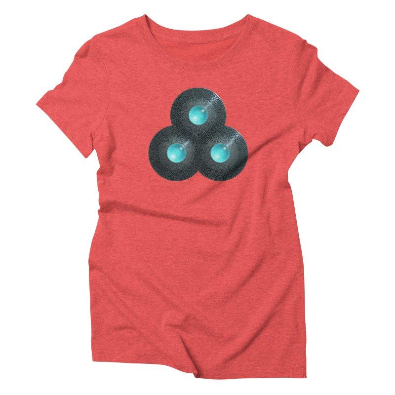 Triple Celt Women's Triblend T-Shirt by Pig's Ear Gear on Threadless