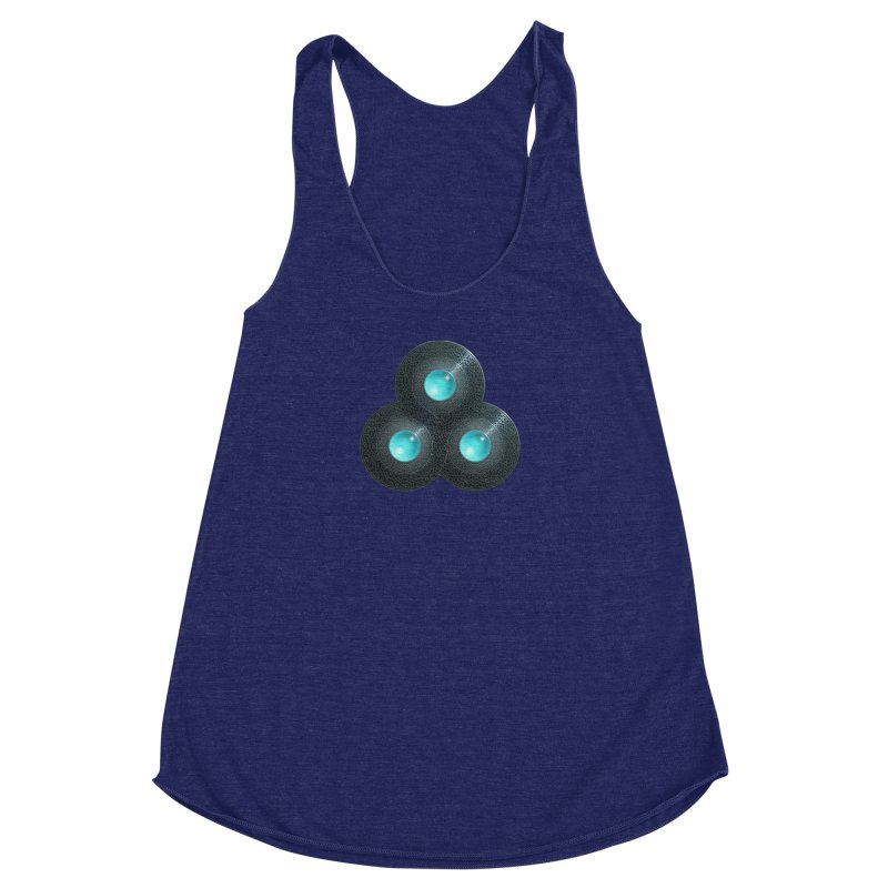 Triple Celt Women's Racerback Triblend Tank by Pig's Ear Gear on Threadless