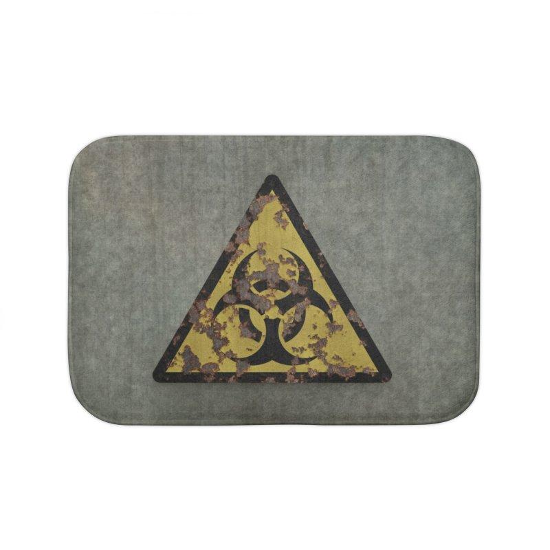 Biohazard Home Bath Mat by Pig's Ear Gear on Threadless