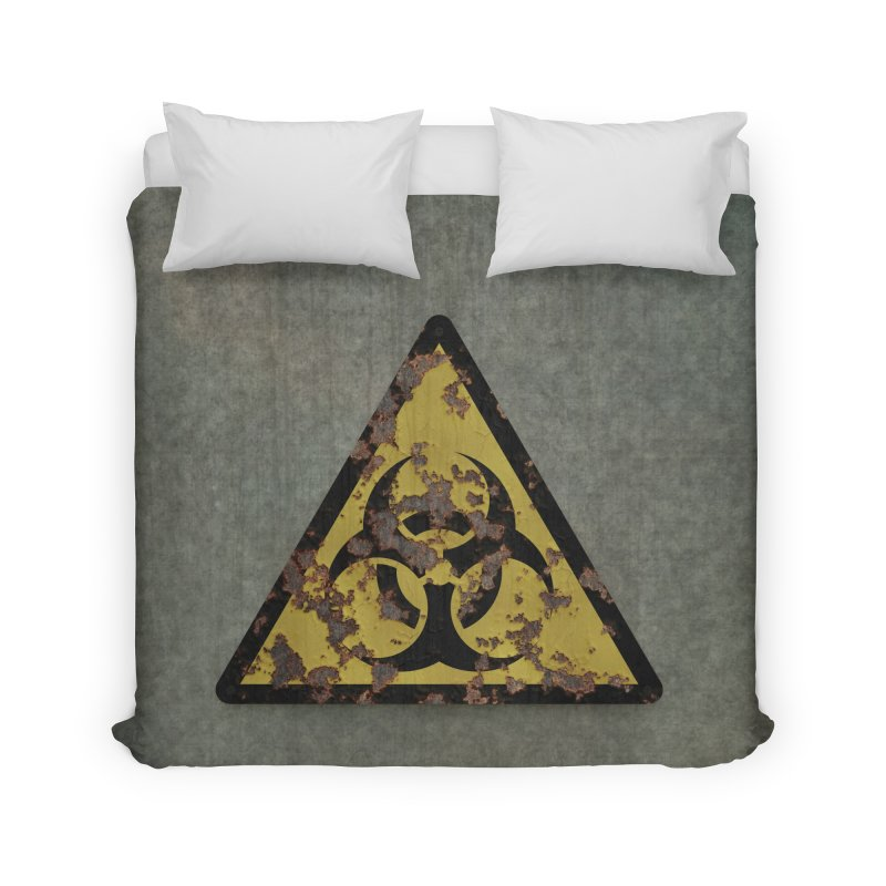 Biohazard Home Duvet by Pig's Ear Gear on Threadless