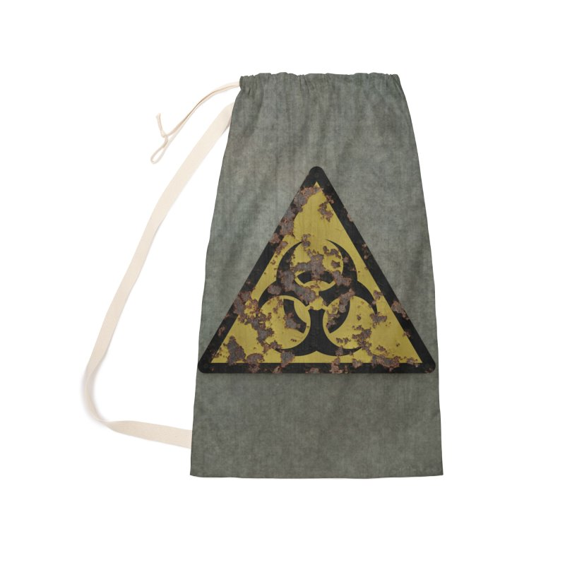 Biohazard Accessories Laundry Bag Bag by Pig's Ear Gear on Threadless