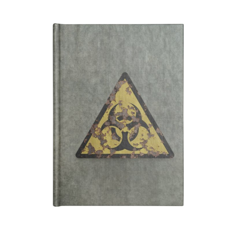 Biohazard Accessories Notebook by Pig's Ear Gear on Threadless