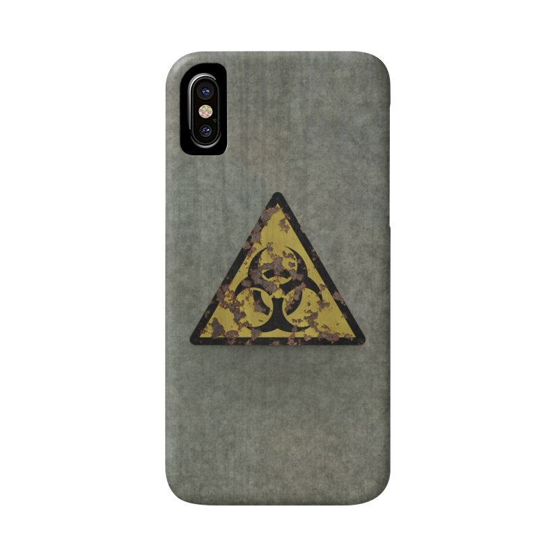 Biohazard Accessories Phone Case by Pig's Ear Gear on Threadless