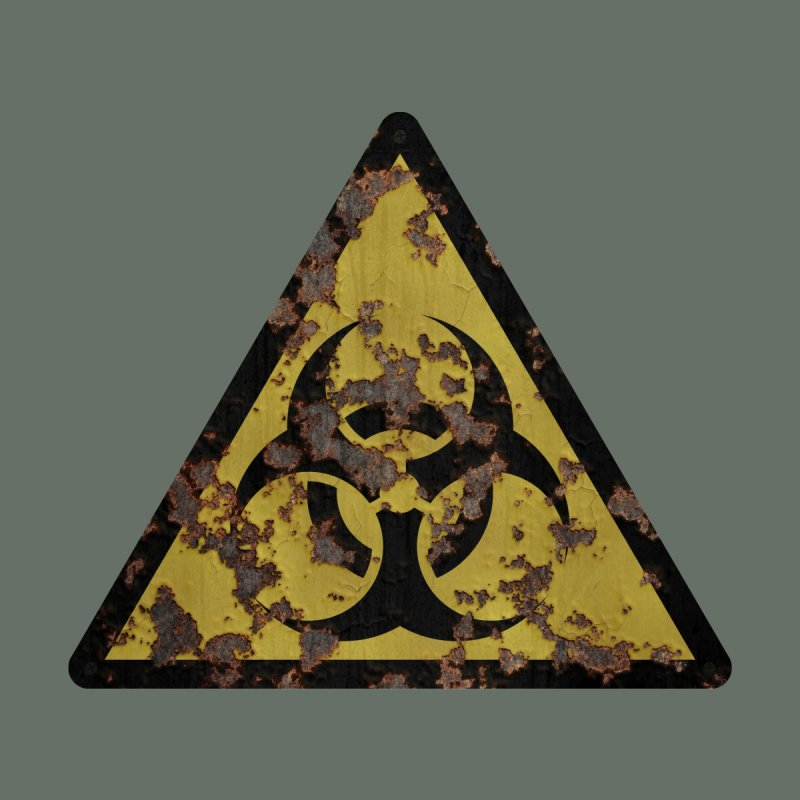 Biohazard Home Fine Art Print by Pig's Ear Gear on Threadless