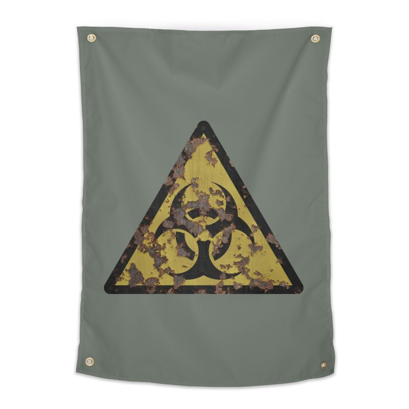 Biohazard Home Tapestry by Pig's Ear Gear on Threadless