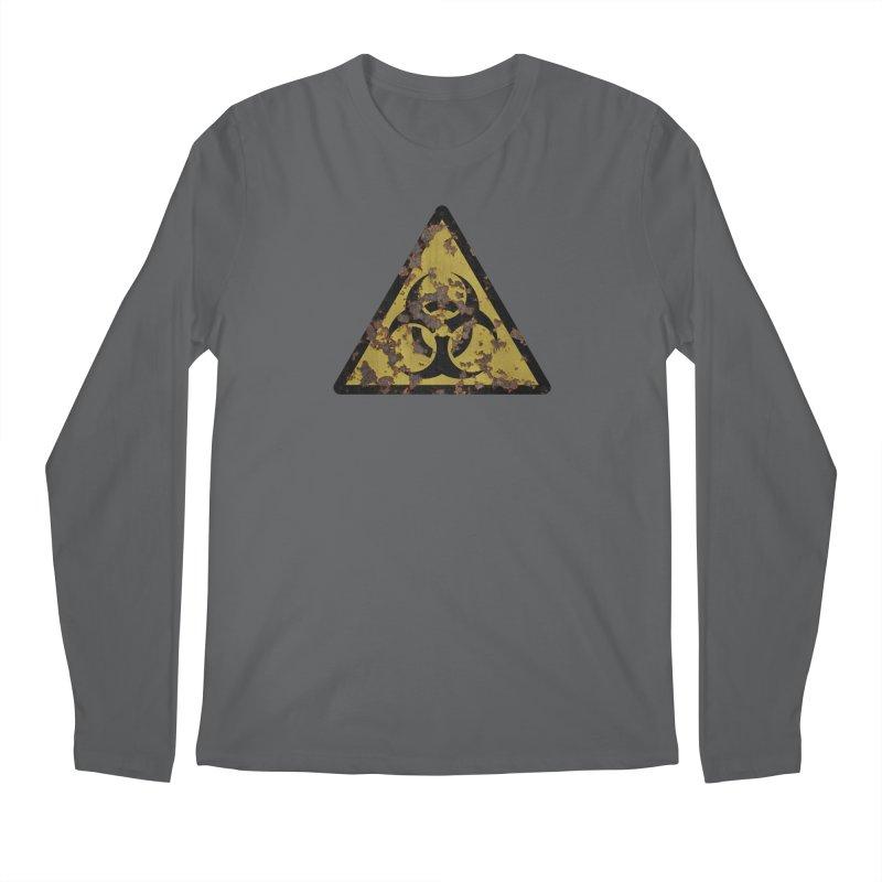 Biohazard Men's Regular Longsleeve T-Shirt by Pig's Ear Gear on Threadless
