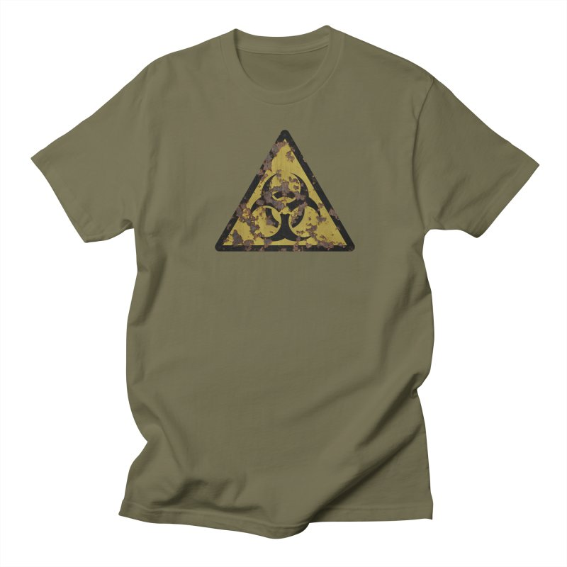 Biohazard Men's Regular T-Shirt by Pig's Ear Gear on Threadless