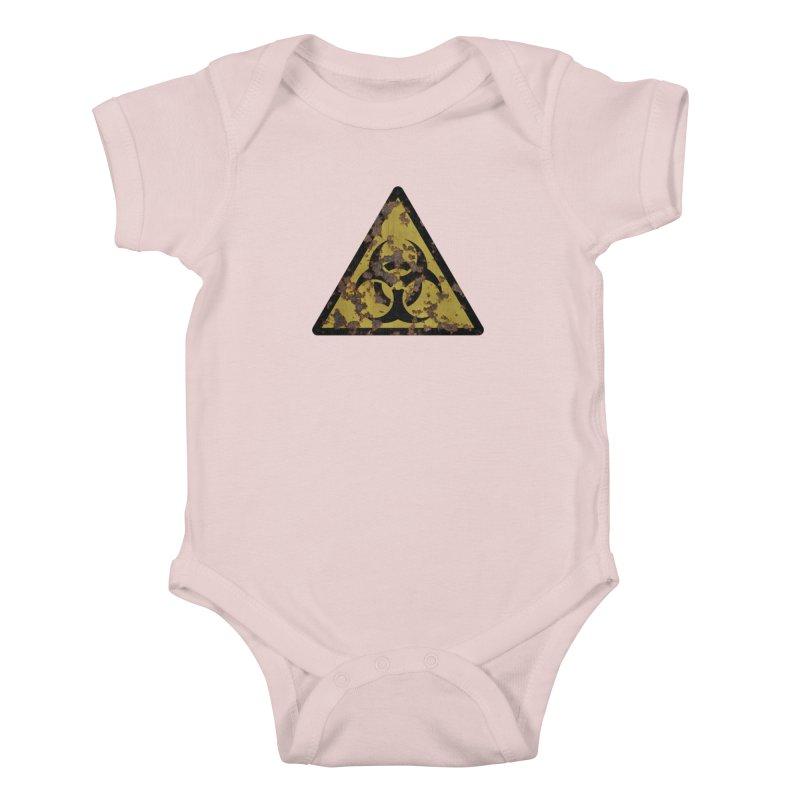 Biohazard Kids Baby Bodysuit by Pig's Ear Gear on Threadless