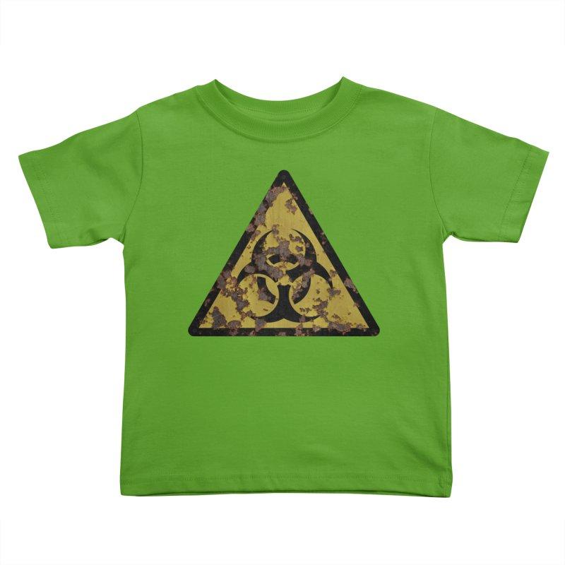 Biohazard Kids Toddler T-Shirt by Pig's Ear Gear on Threadless