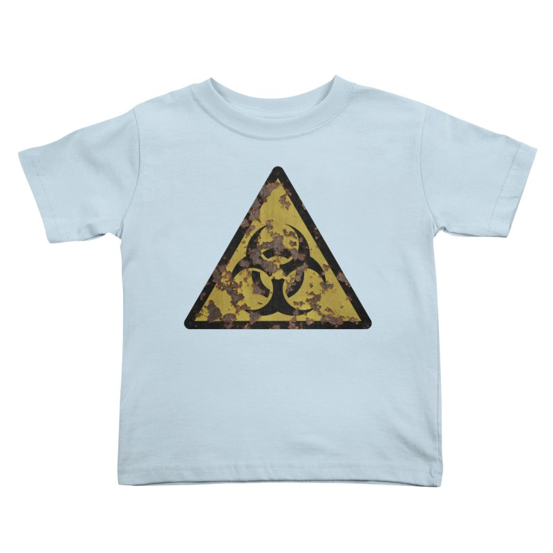 Biohazard Kids Toddler T-Shirt by Pig's Ear Gear on Threadless