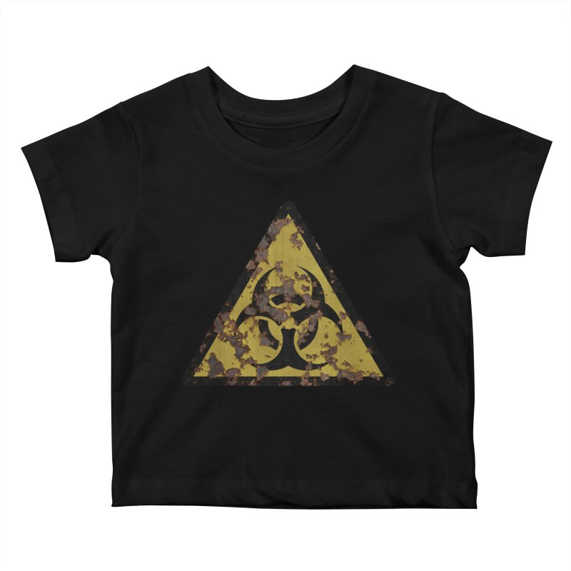 Biohazard Kids Baby T-Shirt by Pig's Ear Gear on Threadless