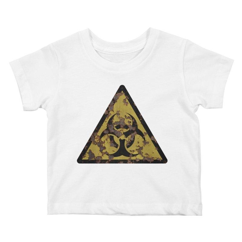 Biohazard Kids Baby T-Shirt by Pig's Ear Gear on Threadless