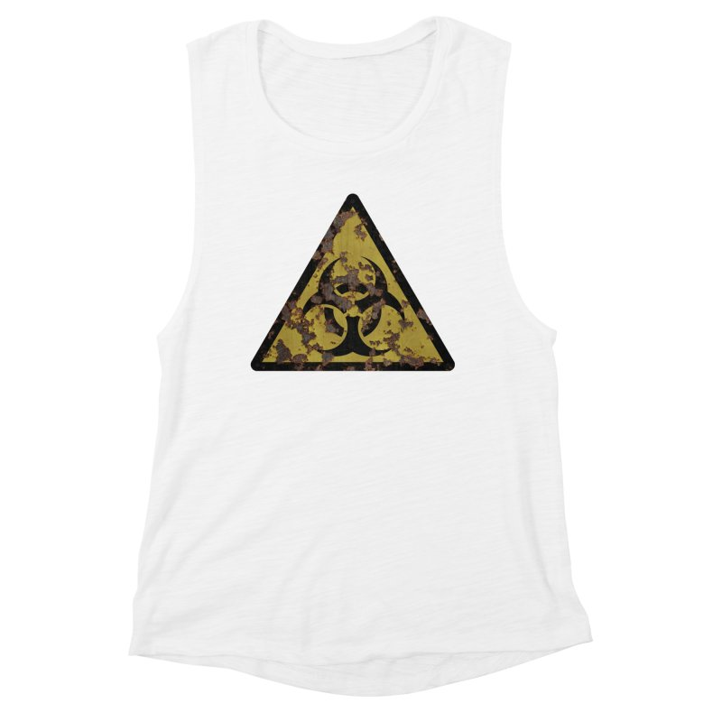 Biohazard Women's Muscle Tank by Pig's Ear Gear on Threadless
