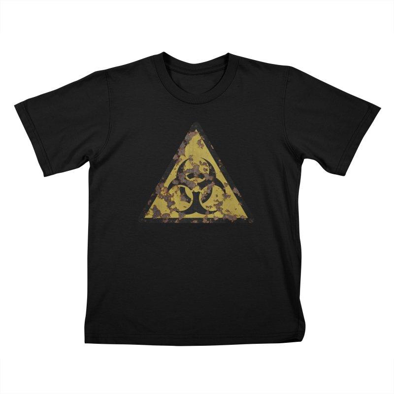 Biohazard Kids T-Shirt by Pig's Ear Gear on Threadless