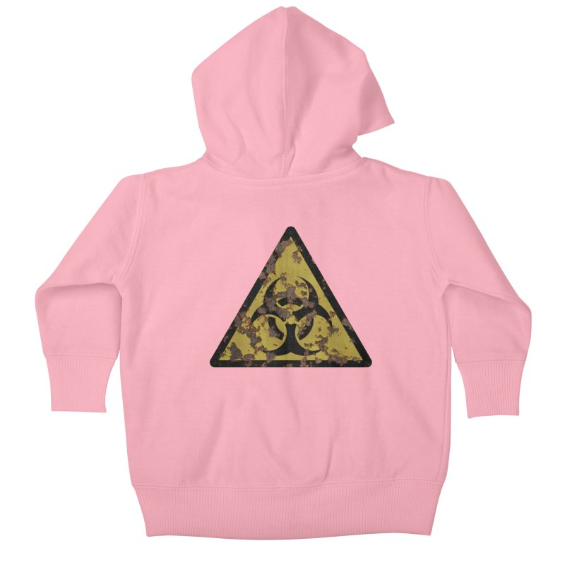 Biohazard Kids Baby Zip-Up Hoody by Pig's Ear Gear on Threadless
