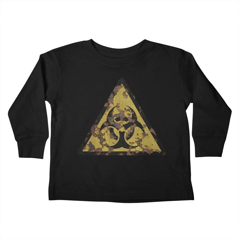 Biohazard Kids Toddler Longsleeve T-Shirt by Pig's Ear Gear on Threadless