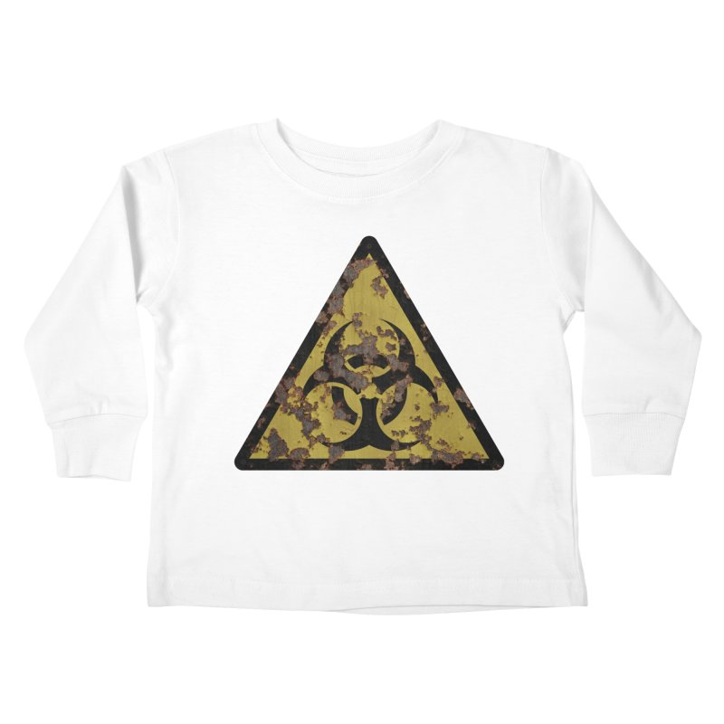 Biohazard Kids Toddler Longsleeve T-Shirt by Pig's Ear Gear on Threadless