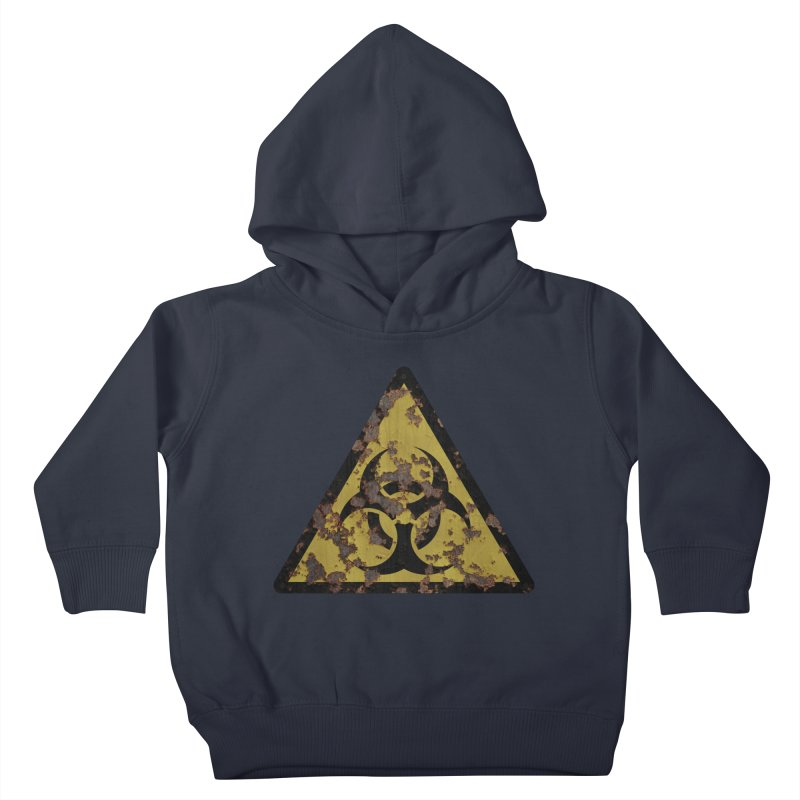 Biohazard Kids Toddler Pullover Hoody by Pig's Ear Gear on Threadless