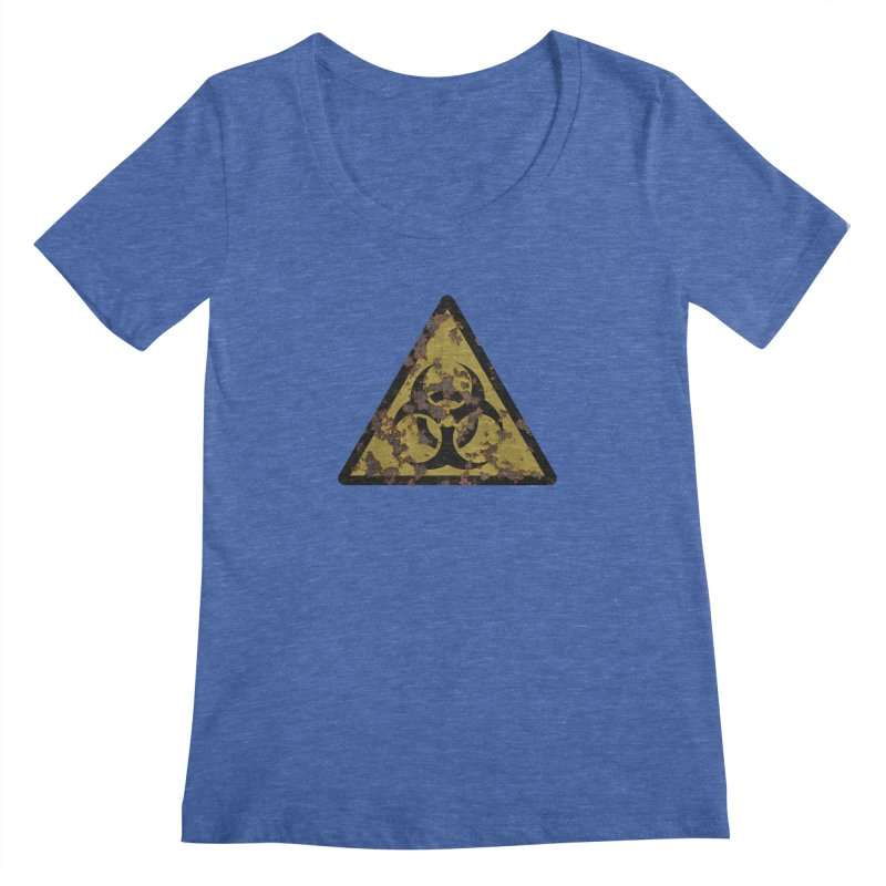 Biohazard Women's Regular Scoop Neck by Pig's Ear Gear on Threadless