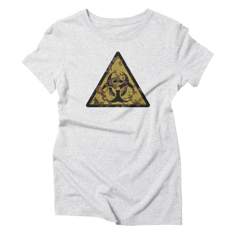 Biohazard Women's Triblend T-Shirt by Pig's Ear Gear on Threadless
