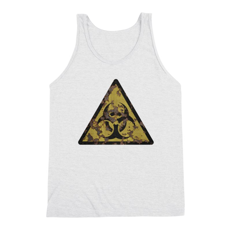 Biohazard Men's Triblend Tank by Pig's Ear Gear on Threadless