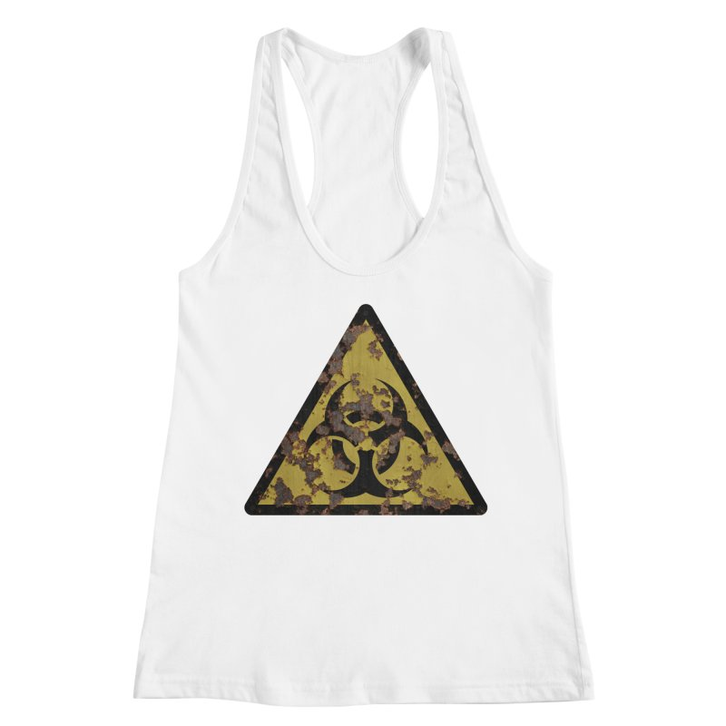 Biohazard Women's Racerback Tank by Pig's Ear Gear on Threadless