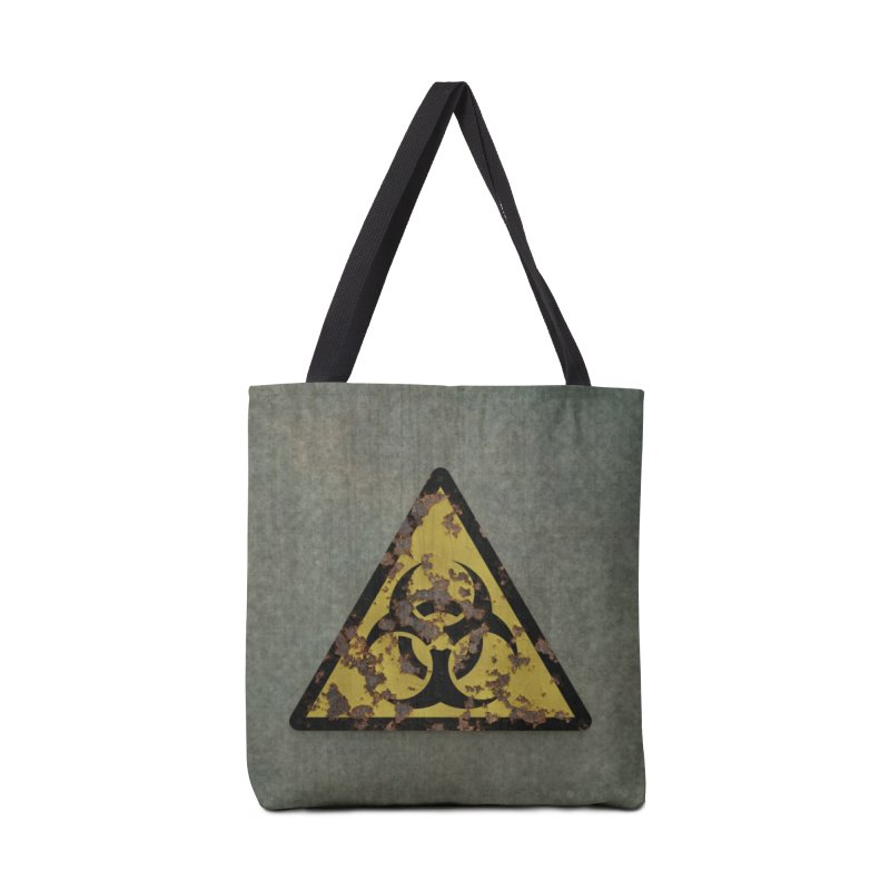 Biohazard Accessories Tote Bag Bag by Pig's Ear Gear on Threadless