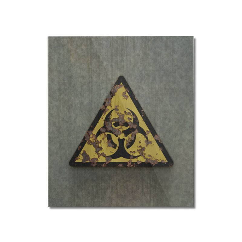 Biohazard Home Mounted Acrylic Print by Pig's Ear Gear on Threadless