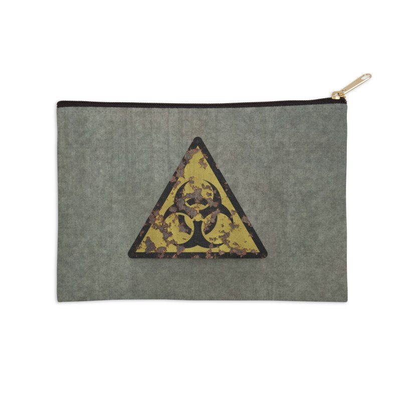 Biohazard Accessories Zip Pouch by Pig's Ear Gear on Threadless