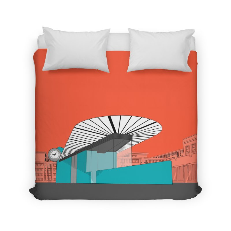 Turquoise Island Home Duvet by Pig's Ear Gear on Threadless