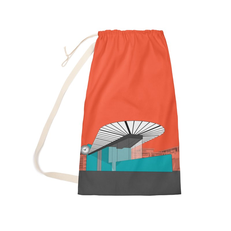 Turquoise Island Accessories Bag by Pig's Ear Gear on Threadless